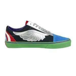 """Vans X Marvel toddler """"off the wall"""" sneakers"""